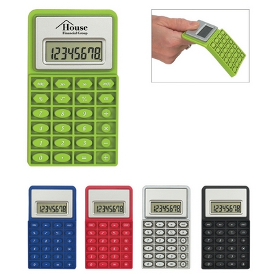 Promotional Calculators: Customized Mini Flexible Calculator