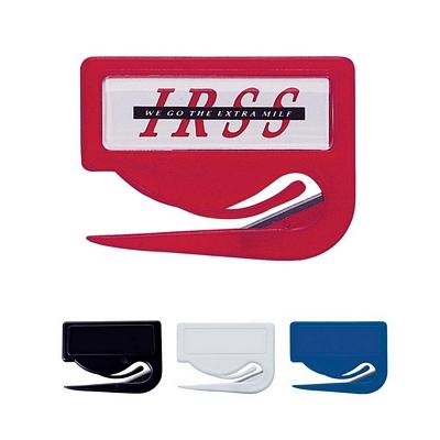 Customized Jiffi Slitter Letter Opener Dome Logo
