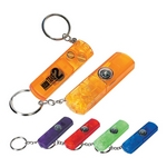 Promotional Key Chains: Customized Whistle Light and Compass Key Chain