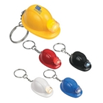 Promotional Key Chains: Customized Hard Hat Led Key Chain