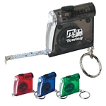 Promotional Tape Measures: Customized Tape Measure LED Flashlight Key Chain