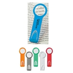 Promotional Magnifying Glasses: Customized Plastic 2 Ruler with Circular Magnifying Glass