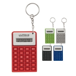 Promotional Calculators: Customized Super Mini Flexi Calculator Key Chain
