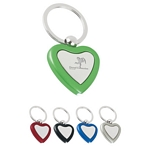 Promotional Key Chains: Customized Heart Metal Light Key Tags