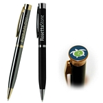 Customized Pen: Amesbury Executive Dome Emblem Pen