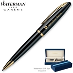 Customized Waterman Carene Black Sea GT Ballpoint Pen