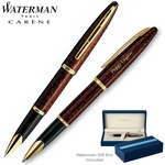 Customized Waterman Carene Marine Amber Roller Ball Pen
