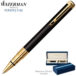 Customized Waterman Perspective Black GT Ballpoint Pen