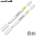 Customized Uni-ball Combi White Highlighter Pen