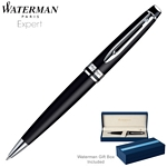 Customized Waterman Expert Matte Black CT Ballpoint Pen