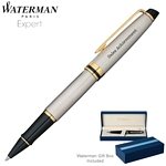 Customized Waterman Expert Stainless GT Roller Ball Pen
