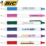 Customized Pens: BIC Clic Stic Grip Pen