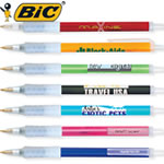 Customized Pens: BIC Clic Stic Ice with Rubber Grip