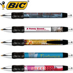 Customized Pens: BIC Digital WideBody Chrome Grip Pen