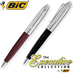 Customized Pens: BIC Leather Twist Ballpoint Pen