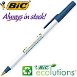 Customized Pens: BIC Round Stic Ecolutions Pen Recycled Pen