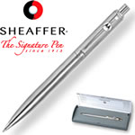 Customized Pens: Sheaffer Sentinel Chrome Ballpoint Pen