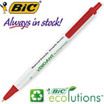 Customized Pens: BIC Tri Stic Ecolutions Recycled Pen
