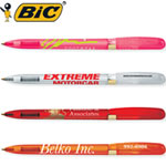 Customized Pens: BIC Pivo Clear Gold Twist Pen