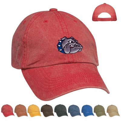 Promotional Caps: Customized Embroidered Washed Cap