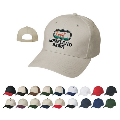 Promotional Caps: Customized Advertising Price Buster Cap