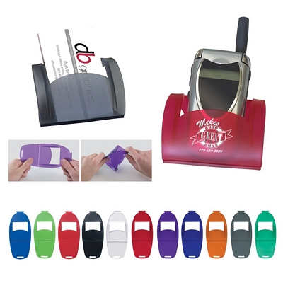 Promotional Business Card Holders: Customized Cell Phone & Business Card Holder