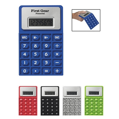 Promotional Calculators: Customized Flexi Imprinted Calculator