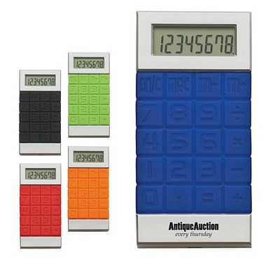 Promotional Calculators: Customized Silicone Key Calculator