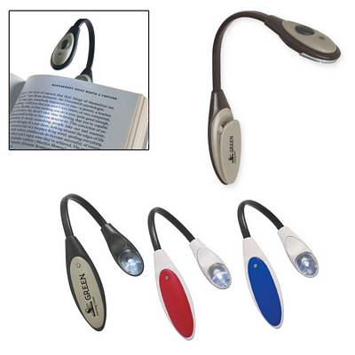Promotional Book Lights: Customized Bendable Book Light