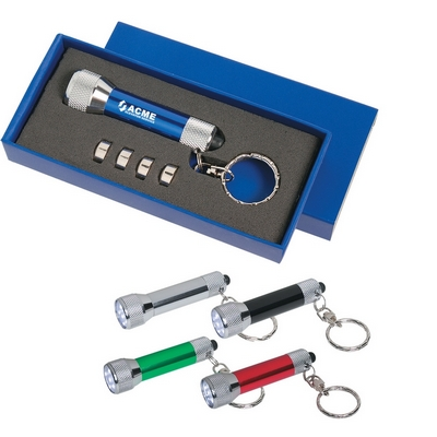 Promotional Flashlights: Customized Aluminum Flashlight Key Chain