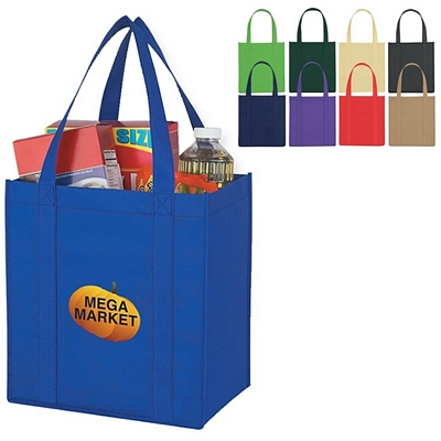 Promotional Shopping Tote Bags: Customized Non-Woven Avenue Shopper Tote Bag