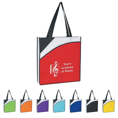 Promotional Tote Bags: Customized Non-Woven Conference Tote Bag