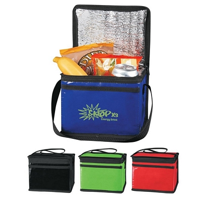 Promotional Cooler Bags: Customized Laminated Non-Woven Six Pack Kooler Bag