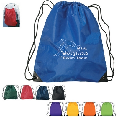 Promotional Drawstring Bags Customized Large Fun Style Sports Backpack
