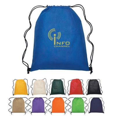 Promotional Drawstring Bags: Customized Non-Woven Hit Sports Drawstring Backpack