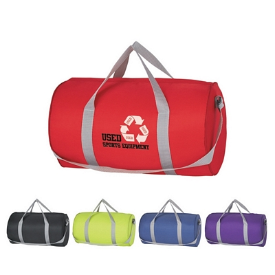 Promotional Duffel Bags: Customized Fun Style Budget Duffle Bag