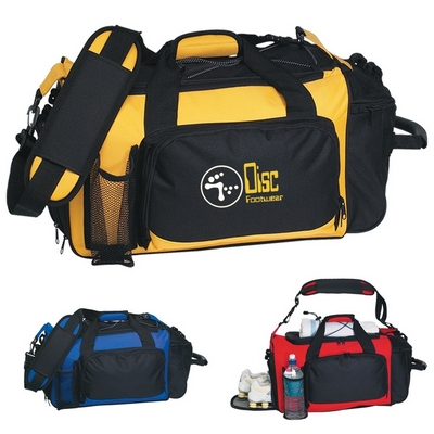 Promotional Duffel Bags: Customized Deluxe Sports Duffel Bag