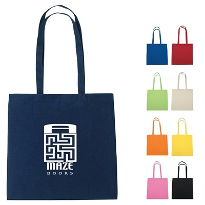 Promotional Tote Bags: Customized 100% Cotton Trade Show Tote Bag