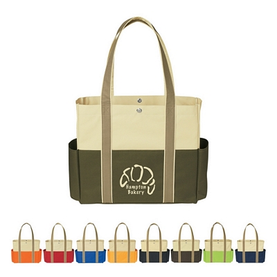 Promotional Tote Bags: Customized Tri-color Tote Bag