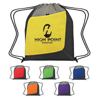Promotional Drawstring Bags: Customized Non-Woven Accent Sports Pack