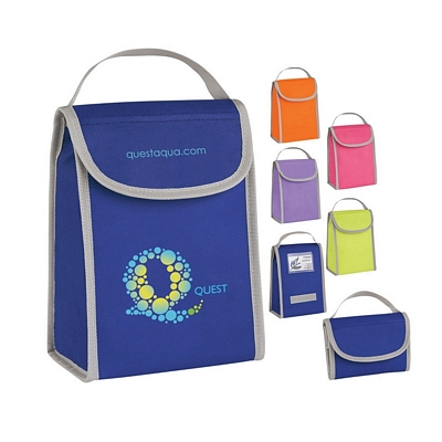 Promotional Lunch Bags: Customized Non-woven Folding Identification Lunch Bag