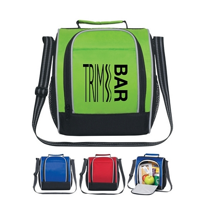 Promotional Lunch Bags: Customized Insulated Side Opening Lunch Bag