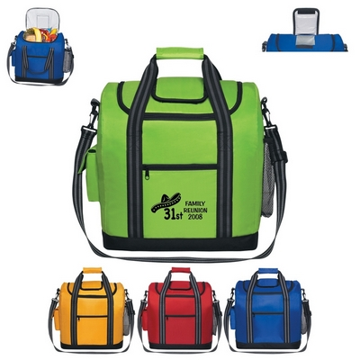 Promotional Coolers: Customized Flip Flap Insulated Kooler Bag