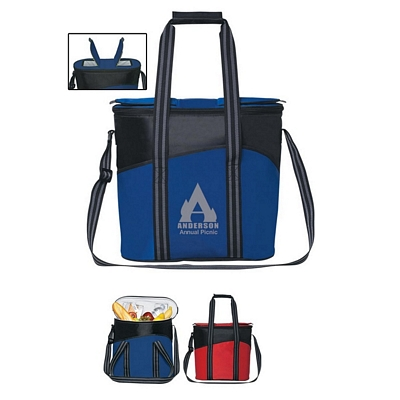 Promotional Coolers: Customized Flip Flap Insulated Travel Kooler Bag