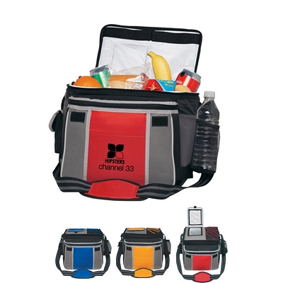 Promotional Coolers: Customized Flip Flap Insulated Kooler Chest Bag