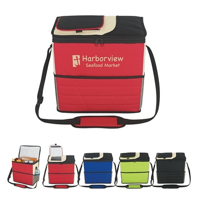 Promotional Coolers: Customized Fun Style Flip Flap Insulated Kooler Bag