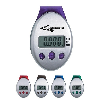 Promotional Pedometers: Customized Deluxe Multi-Function Pedometer
