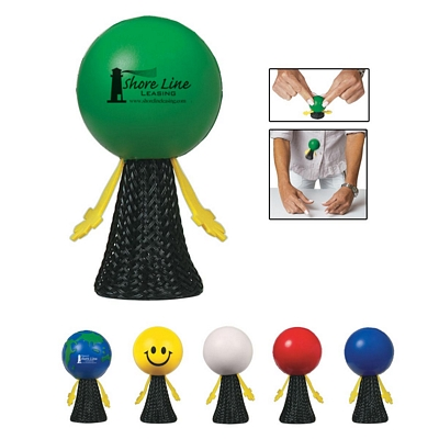 Promotional Stress Relievers: Customized Spring Loaded Stressball