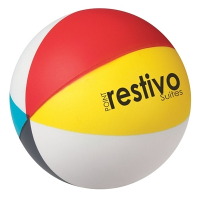 Promotional Stress Relievers: Customized Beach Ball Stressball