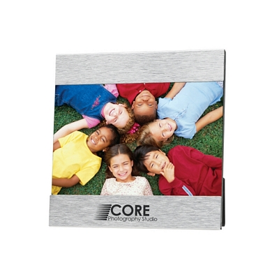 Promotional Picture Frames: Customized 4 x 6 Aluminum Photo Frame